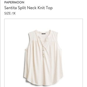 Papermoon Knit Top from Stitch Fix